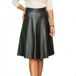 Office A-line Bodycon Faux...
